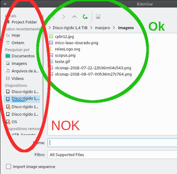 ⚓ T9904 Add new clip, shows empty window