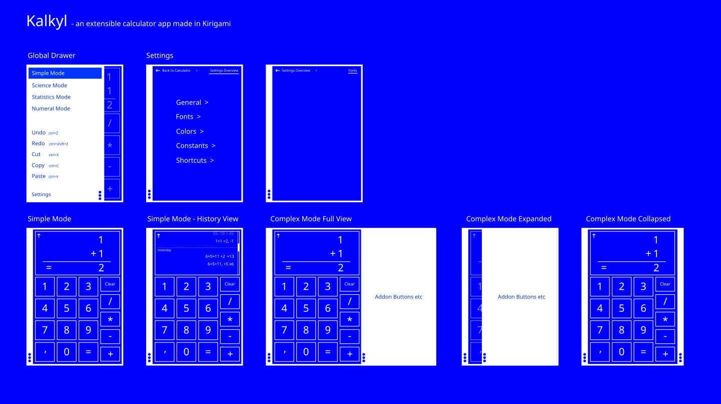m103 kalkyl a kirigami calculator app rough sketchblueprint download file malvernweather Image collections