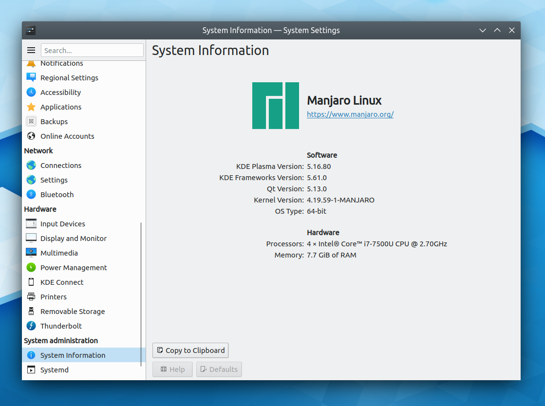 Adventures in Linux and KDE